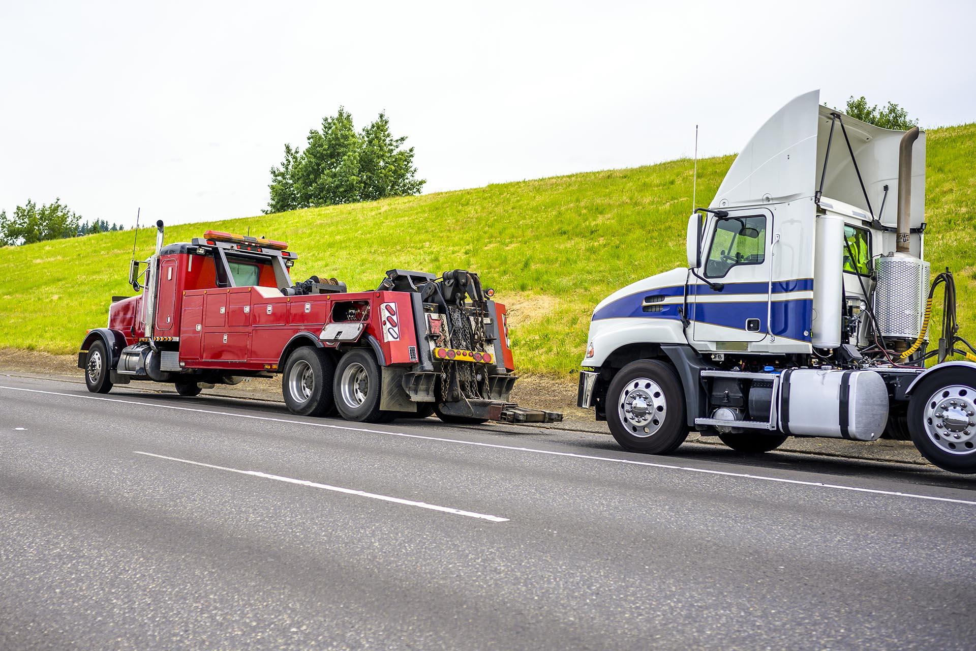 remorquage camion